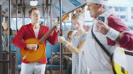 St Albans' own Bob Golding in the Hive ad