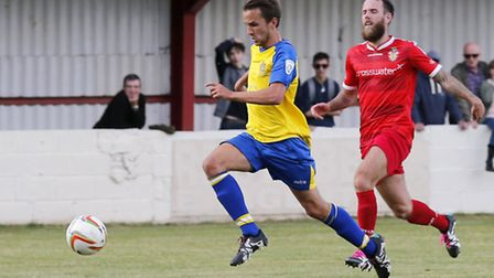 Sam Merson has signed an 18-month contract to stay at St Albans City. Picture: LEIGH PAGE