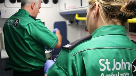 The open evening for those who may be interested in becoming St John Ambulance volunteers takes plac