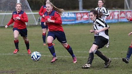 Holly Sheridan scored three against Bedwell. Picture: JIM WHITTAMORE