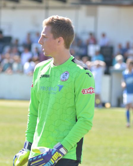 Goalkeeper Ollie Sutton impressed on his return to St Ives Town.