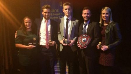 Roundwood Park School picked up the 'Secondary Sport School of the Year' award at the St Albans & Di