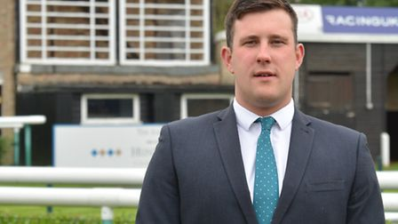 New Huntingdon Racecourse general manager Liam Johnson. Picture: HELEN DRAKE
