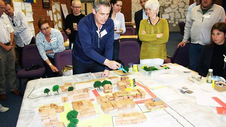 Local residents at the St Albans CCOS charrette
