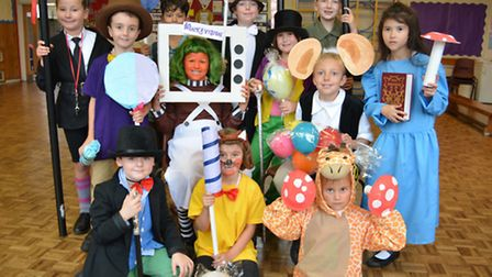 Roald Dahl Day at Holywell Primary School