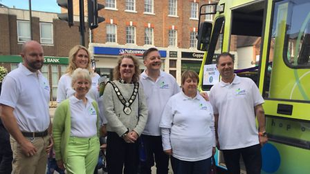 The team behind the Harpenden Hopper initiative