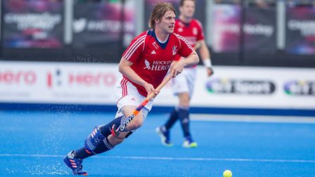 Ashley Jackson made his 100th GB appearance against Netherlands. Picture: RAVI GHOWRY