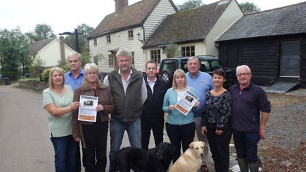 Save The Cabinet action group members attended a meeting on Monday night to discuss The Cabinet pubs