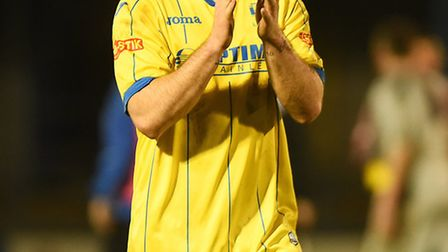 New St Neots Town signing Sam Mulready during his King's Lynn days. Picture: IAN BURT