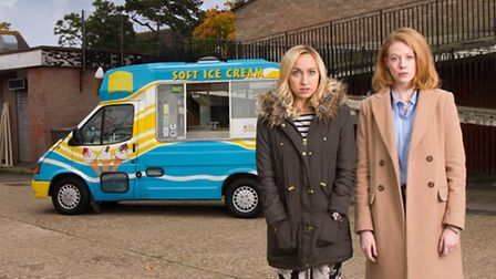 Kerry Howard (left) and Zoe Boyle who are starring in the programme.