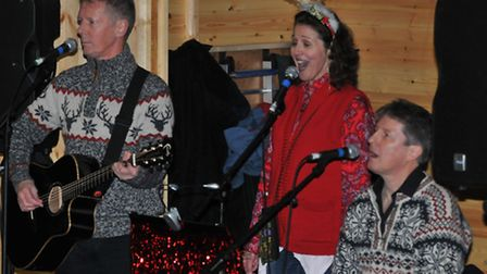 A local band performs at the St Albans Christmas market - but this year it will be different