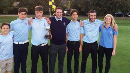 St Neots Golf Club have won the Cambridgeshire Golf Union Junior League title for the fourth success