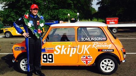 Sam Tomlinson finished as runner-up in the BARC Mighty Minis Championship.