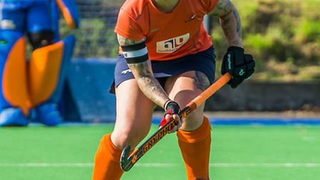 Chloe Hobson, the St Albans Hockey Club first team captain. Picture: CHRIS HOBSON