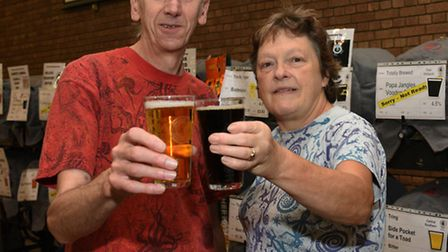 Paul Moorhouse, of the Campaign for Real Ale, and Kathy Hadfield-Moorhouse, real ale bar manager.