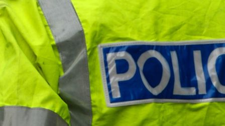 A teenager reported being threatened by a man dressed as a clown on Friday in Royston.