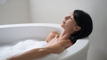 A bath can use 80 litres of water