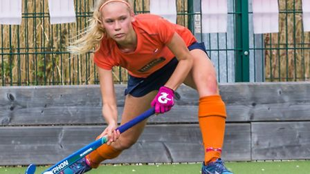 St Albans' Maddy Davies has been handed a Futures Cup call-up. Picture: WWW.CHRISHOBSONPHOTOS.CO.UK