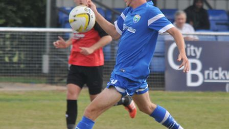 Archie McClelland scored twice as London Colney beat Godmanchester Rovers 3-0 in the FA Vase. Pictur