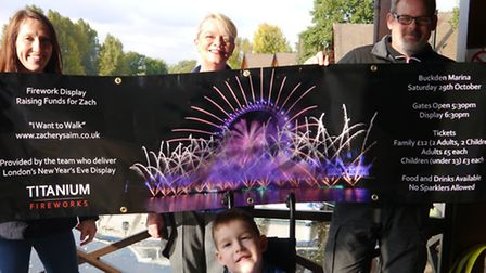 A fireworks event will take place on Saturday to raise money for Zachery Smith