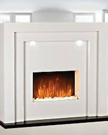 Monaco Free Standing Electric Fireplace