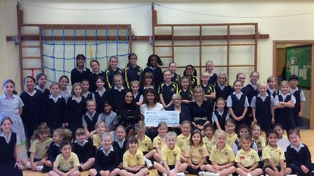 More than 50 pupils took part, raising a total of £3,121 to be shared between three charities.