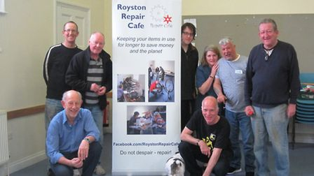 The Royston Repair Cafe team are back on Sunday.