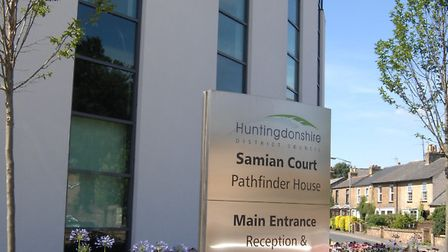 Huntingdonshire District Council has turned dfown a developer's bid for dozens of new homes in Sawtr