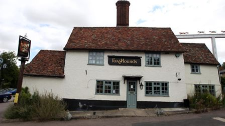 Police responded to reports that the Fox and Hounds pub in Barley had been turned into a cannabis fa
