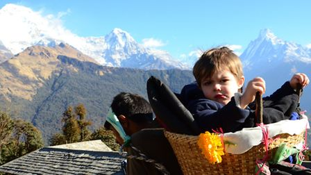 Alfred Cery in Nepal