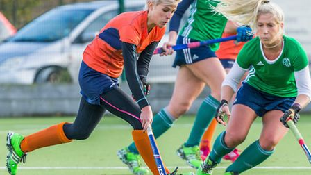 St Albans' Sammie Archer scored for the ladies against Chelmsford. Picture: CHRIS HOBSON