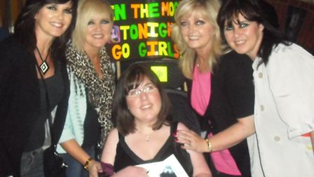 Maureen, Bernie, Linda and Coleen Nolan with Kirsten.
