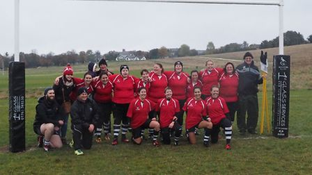 Royston RFC ladies are hoping to join a league next season