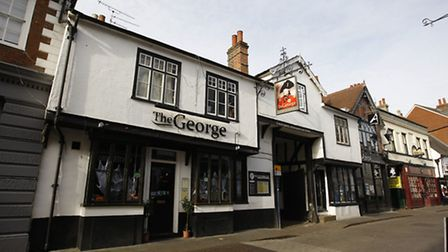 The George on picturesque Bucklersbury