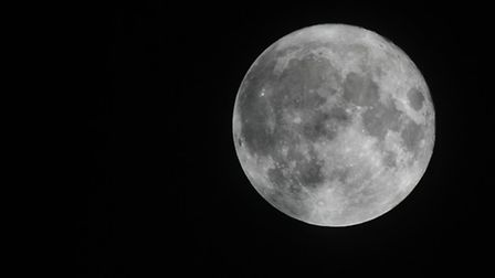 These Supermoon photographs were taken at about 11pm on Monday, November 14, in St Albans by Rob Ram