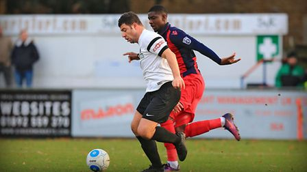 John Frendo on the ball. Picture: Kevin Richards