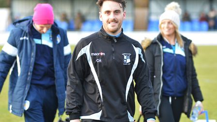 Godmanchester Rovers boss Chris Hyem has plenty to smile about after a fine start to his reign.