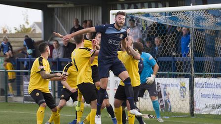 Tom Ward is no longer St Neots Town captain. Picture: CLAIRE HOWES