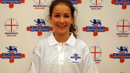St Albans' Nia Boty has been selected for the England Alpine Squad