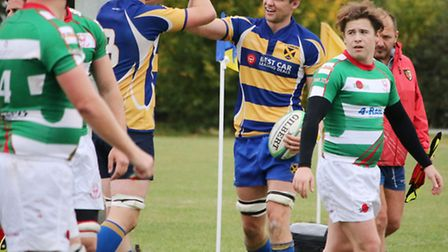 Sam Millicheap scored twice as St Albans lost to OMT. Picture: KEVIN LINES