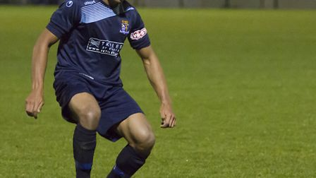 St Neots Town defender Miles Smith. Picture: CLAIRE HOWES