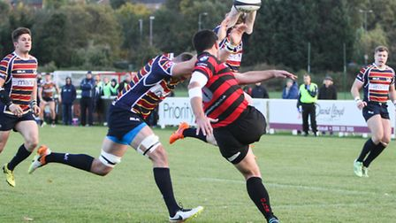 OAs charge down a Blackheath clearance. Picture: NEIL BALDWIN PHOTOGRAPHY