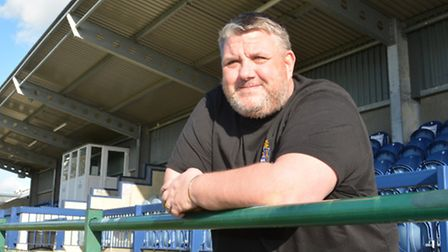 St Neots Town boss Andy Davies.