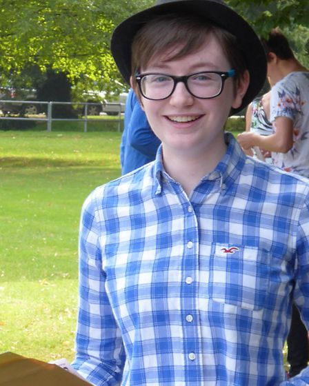 Amy Selby was one of the top GCSE performers at Melbourn Village College this year.