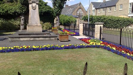 St Neots war memorial is among those to be listed.