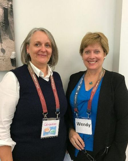 OLLIE trainers Christine Black (left) and Wendy Henrys (right)