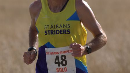 Andrew McKillop of St Albans Striders, seen at the St Albans Stampede. Picture: CHRIS BARR
