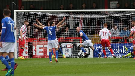 Carlisle beat Stevenage just two weeks ago. Picture: DANNY LOO