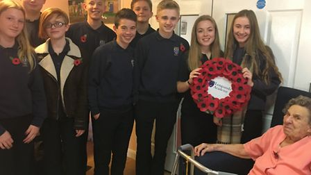 Longsands pupils listened to stories about war-time Britain