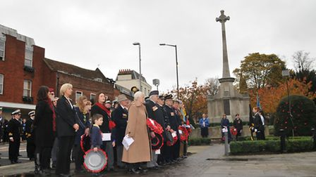 Remembrance Day Service in St Albans